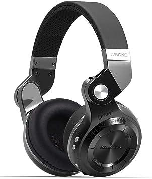 Bluedio T2S Auriculares Bluetooth Cascos inalámbricos con micrófono Plegable para moviles iPhone Samsung Smartphone iOS Android y Microsoft (Negro): Amazon.es: Electrónica