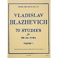 Music Tuba Blazhevich 70 Studies for BBb Tuba Vol.1