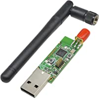 Aideepen Zigbee CC2531 Sniffer Naakte Board Packet Protocol Analyzer Module USB Dongle voor Home Assistant, Open HAB etc…