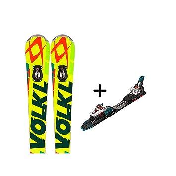 Völkl Racetiger SW SL UVO + rmot2 12.0 D R, amarillo y negro, 160: Amazon.es: Deportes y aire libre
