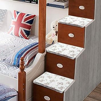 Cama para niños dormitorio universitario cama litera escalera cama esterilla pedal antideslizante almohadilla anti-frío engrosamiento, juego completo, 40 * 28 cm: Amazon.es: Bricolaje y herramientas