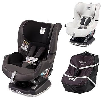 Peg Perego Primo Viaggio Infant Convertible Car Seat W Travel Bag Clima Cover