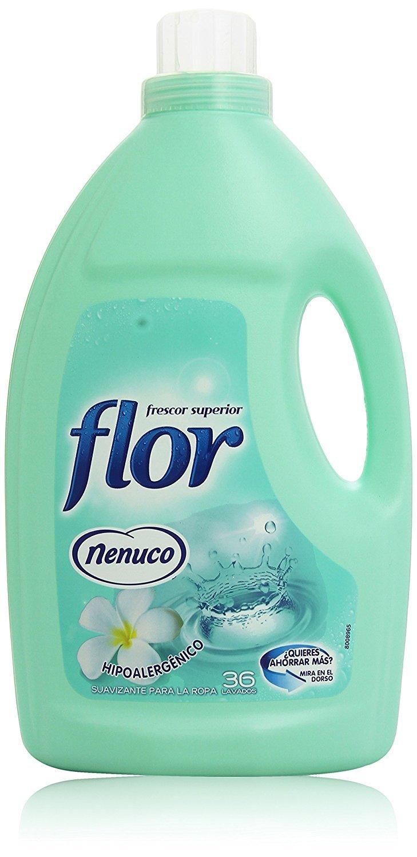 Flor Nenuco Suavizante Para La Ropa Hipoalerg Nico 2196 Ml  ~ Suavizante De Ropa Que Mejor Huele