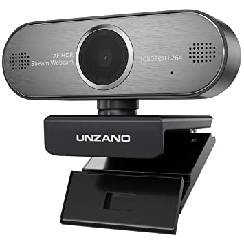 Pro Stream Webcam 1080P HD Video Auto Focus Camera for Streaming, Game  Recording, Conferencing, USB Web Camera with Mic Skype, Xsplit, OBS for  Mac,