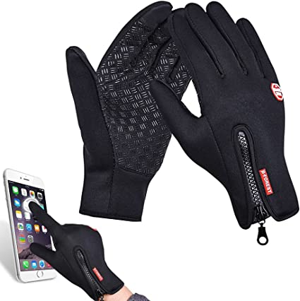 Mens Outdoor Riding Gloves Warm Winter Biker Motorcycle Driving Mittens Hot Sbox