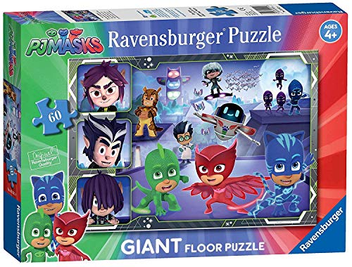 Ravensburger PJ Masks, 60pc Giant Floor Jigsaw Puzzle