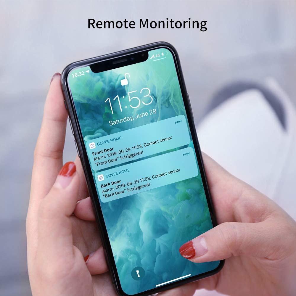 Amazon.com: Govee WiFi Door Open Sensor, Wireless Home ...