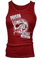 ALICE COOPER inspired Poison Vest Top, Womens