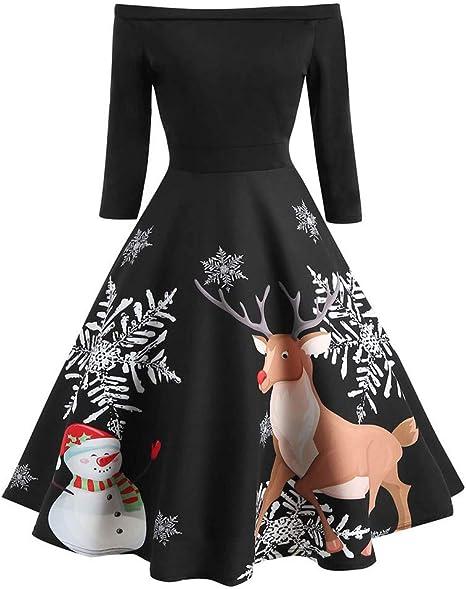 Damen Minikleid Brautjungfern Hochzeit Abendkleid Swing Ballkleid Partykleid DE