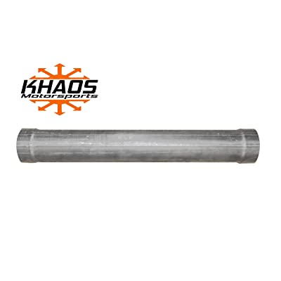 "4"" Muffler Delete Exhaust Pipe 30"" Length Duramax Cummins Powerstroke Khaos Motorsports: Automotive"