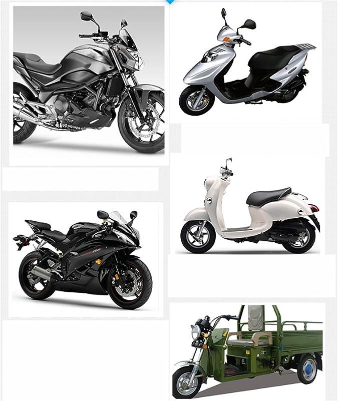 MASLEID Bocinas eléctricas universales de la Vespa de la Motocicleta 12V 1.5A 105db Altavoces de bocanada ruidosos Redondos, A: Amazon.es: Deportes y aire ...