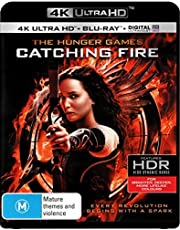 Hunger Games: Catching Fire (4K Ultra HD + Blu-ray)