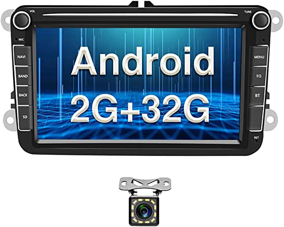 Android Autoradio Für Vw Gps Navigation 8 Kapazitiver Elektronik