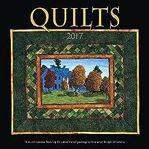 Quilts 2017 Square 12x12 Wall Calendar