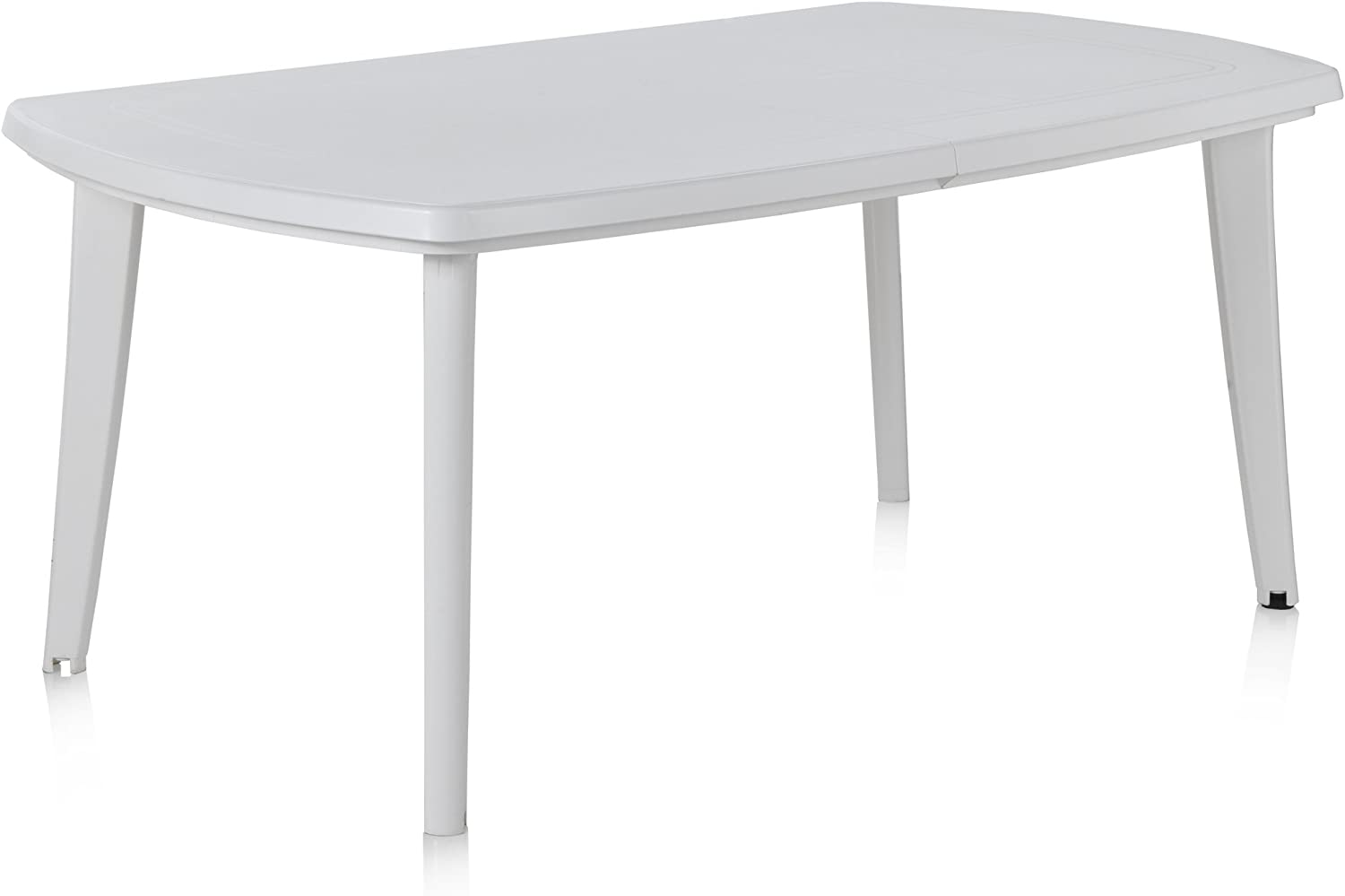Shaf Atlantic - Mesa extensible, Blanco, 225 x 100 x 73 cm