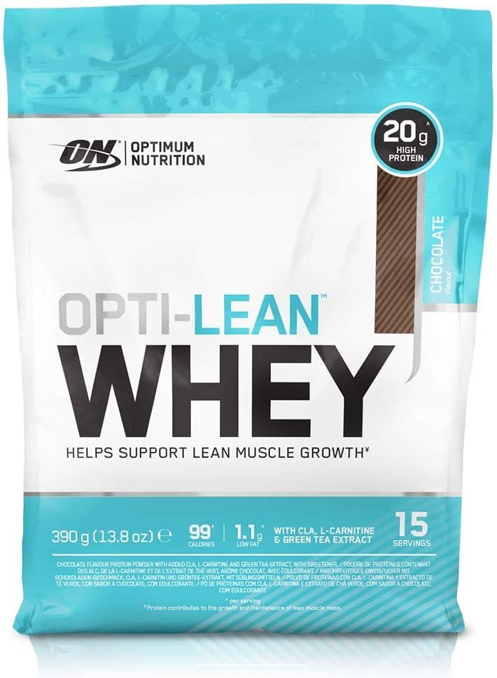 Optimum Nutrition Opti-Lean Whey Proteína con Chocolate - 405 gr
