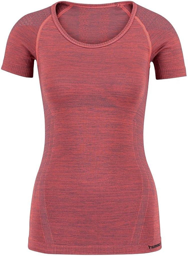 /Noa Seamless SS Tee T-Shirt Hummel/