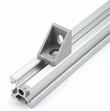 5//10pcs 2020 Angle Aluminum Side Bracket Standard EU 2020 Aluminum Profile