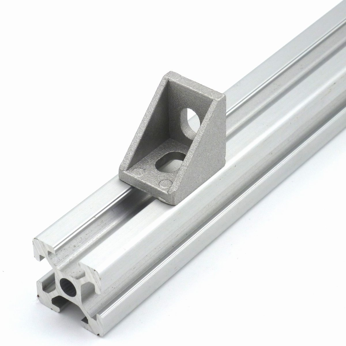25 Pcs Cast Corner Bracket for 2020 Series Aluminum Extrusion 20x20x17mm, GURANTEED to Get It within 3-5 Business Days!!! (03-001)