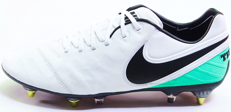 save off 7cfaa 4939b Amazon.com | Nike Tiempo Legend VI SG-PRO AC White/Black ...