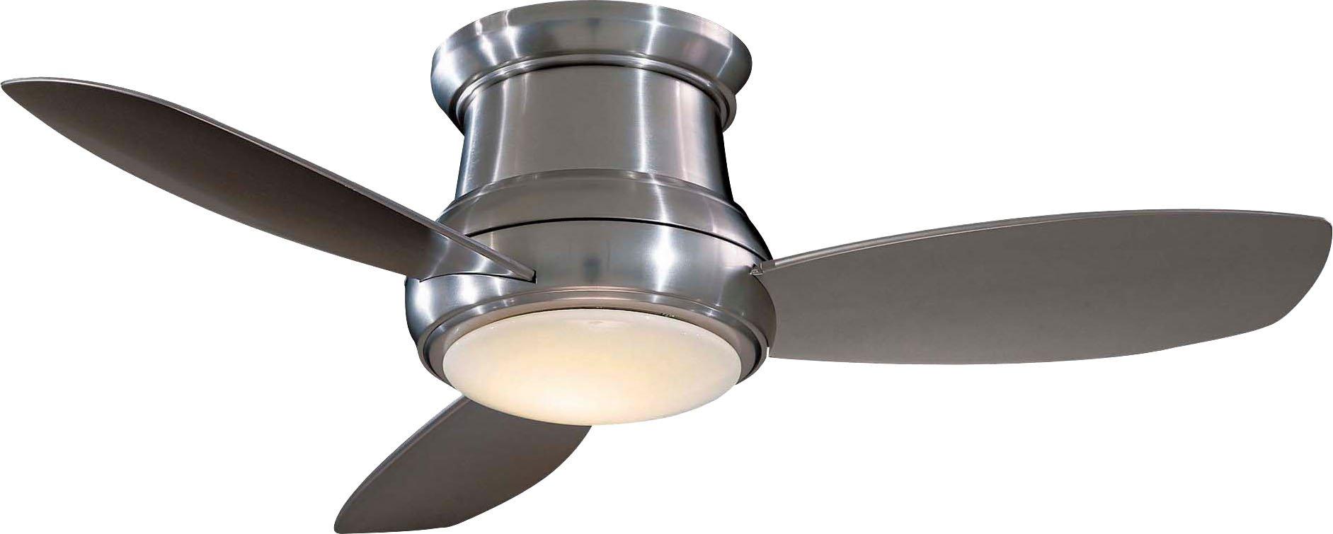 Minka-Aire F519-BN, Concept II, 52'' Ceiling Fan, Brushed Nickel