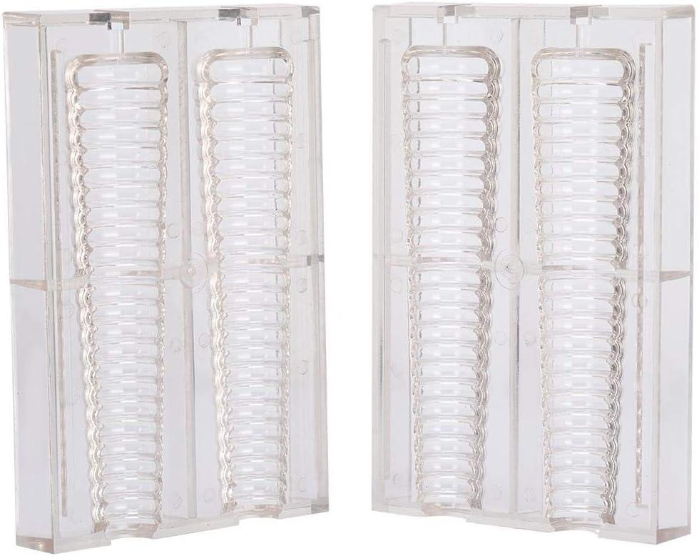 Fdit Molde de Vela Espiral de plástico para fabricación de Velas Molde de Vela DIY Vela Decorativa Vela perfumada: Amazon.es: Hogar