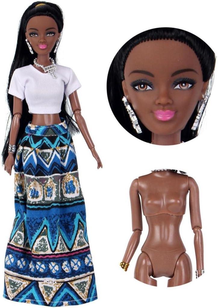 Momola B/éb/é mobile conjoint poup/ée jouet noir poup/ée Toy collection cadeau Bleu