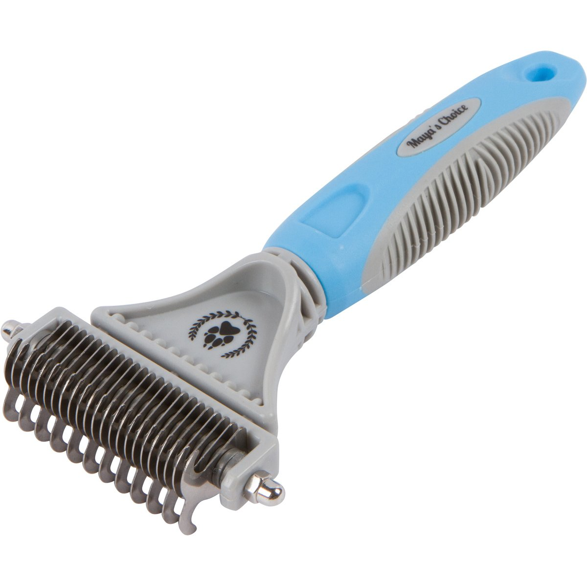 Ultimate Dog Dematting Comb - DIY Grooming Tool for Small Dogs, Large Dogs, and Cats by Maya's Choice