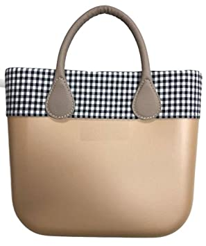Trim cenefa cuadros Black & White – para o Bag Mini