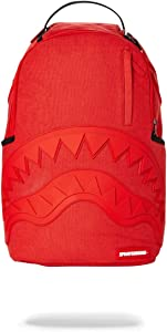 SPRAYGROUND BACKPACK RED GHOST RUBBER SHARK