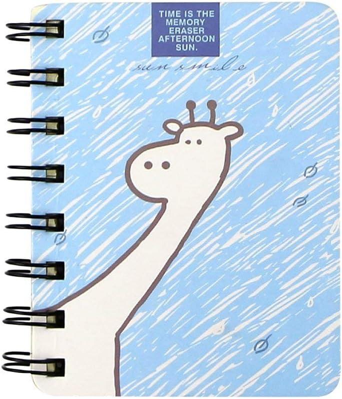 Aibada Mini Bloc de Notas en Espiral para Dibujo de Fiesta Infantil DIY Scratch Pack de 4: Amazon.es: Hogar