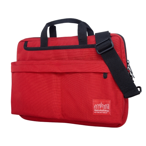 Manhattan Portage Convertible Deluxe Laptop Bag (Red, 13-Inch) by Manhattan Portage