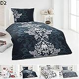 dresscode 4 teilige winter bettw sche set 135 x 200 cm teddy pl sch coral fleece cashmere touch. Black Bedroom Furniture Sets. Home Design Ideas