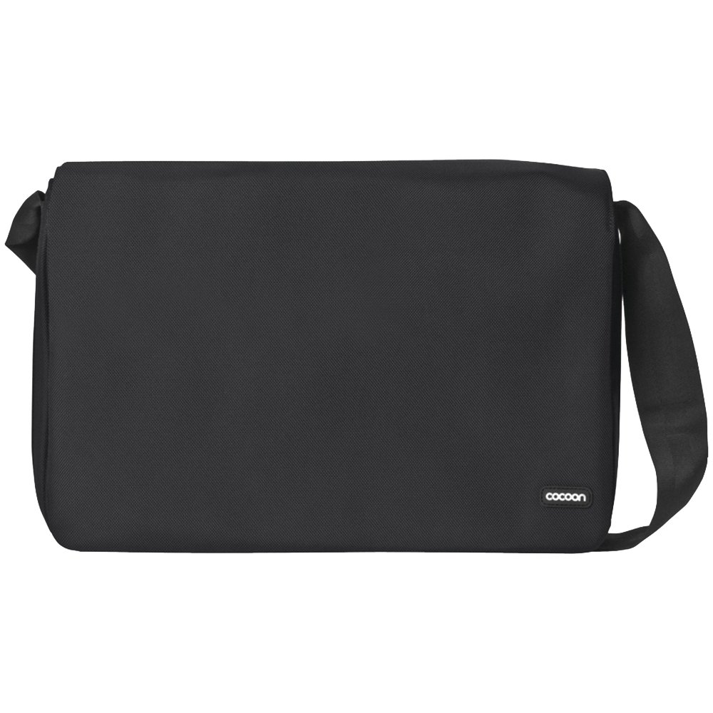Cocoon CMB401BY Messenger Bag, up to 16 inch,16.14 x 3.9 x 11.8 inch, Black