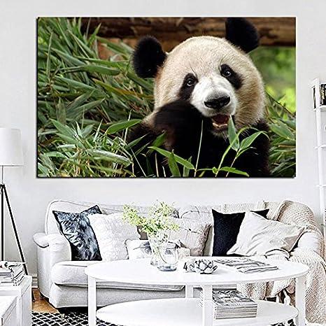 PRINTWL Mur Modulaire Image Affiche Artwork D/écoration De La Maison Salon 1 Panneau Animal Panda Toile Art Prints Peintures Modernes