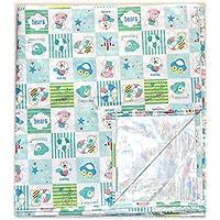 Tiny Care Plastic Sheet (XXL, Green)