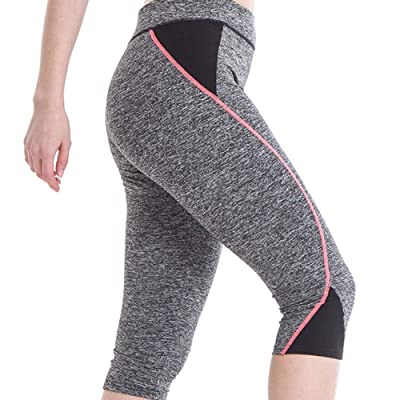 HaiDean Notdark Leggings Deportivos para Alta Cintura Pantalones Mujer Deportivos Súper Modernas Casual Gimnasio Fitness Correr Yoga Pantalones De Entrenamiento Pantalones Casuales: Ropa y accesorios
