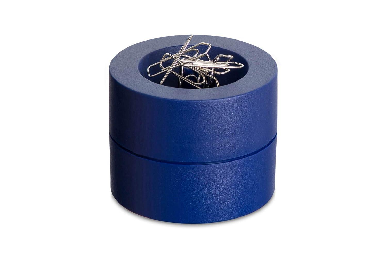 Maul 30123.02 Klammernspender weiss Plastik mit Zentralmagnet