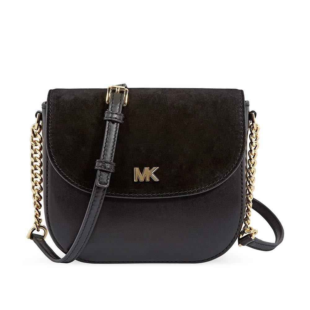 Michael Kors Ladies Leather & Suede Saddle Bag 32F8GF5C8L001