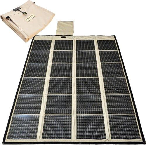 NEW Powerfilm Foldable 120 Watt Solar Charger FM16-7200 F16-7200 - Ships Global ()