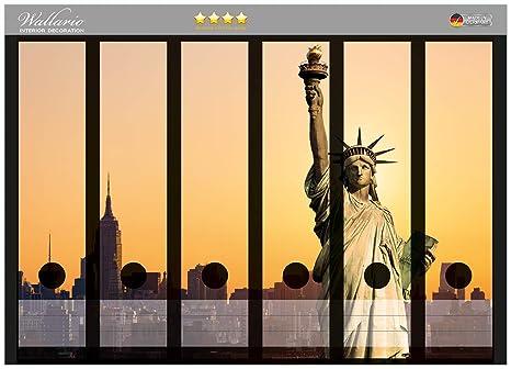 Archivadores diseño de Estatua de la Libertad en Nueva York calidad - tamaño 36 x 30