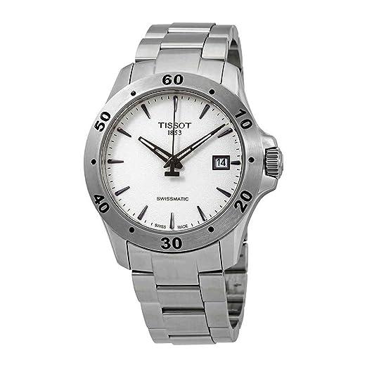Tissot TISSOT V8 SWISSMATIC T106.407.11.031.01 Reloj Automático para hombres: Amazon.es: Relojes