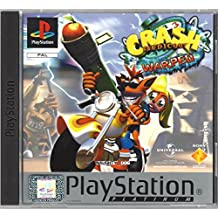 PS1 PAL Crash Bandicoot 3 Warped Platinum