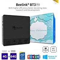 Beelink BT3PRO II Mini PC, Mini Computer Desktop con HDMI e VGA, Processore Intel Atom X5-Z8350, WiFi da 4GB+64GB, 2,4G/5,8G Dual Band, BT 4.0, 4K, 1000 Mbps LAN, Supporto Windows 10