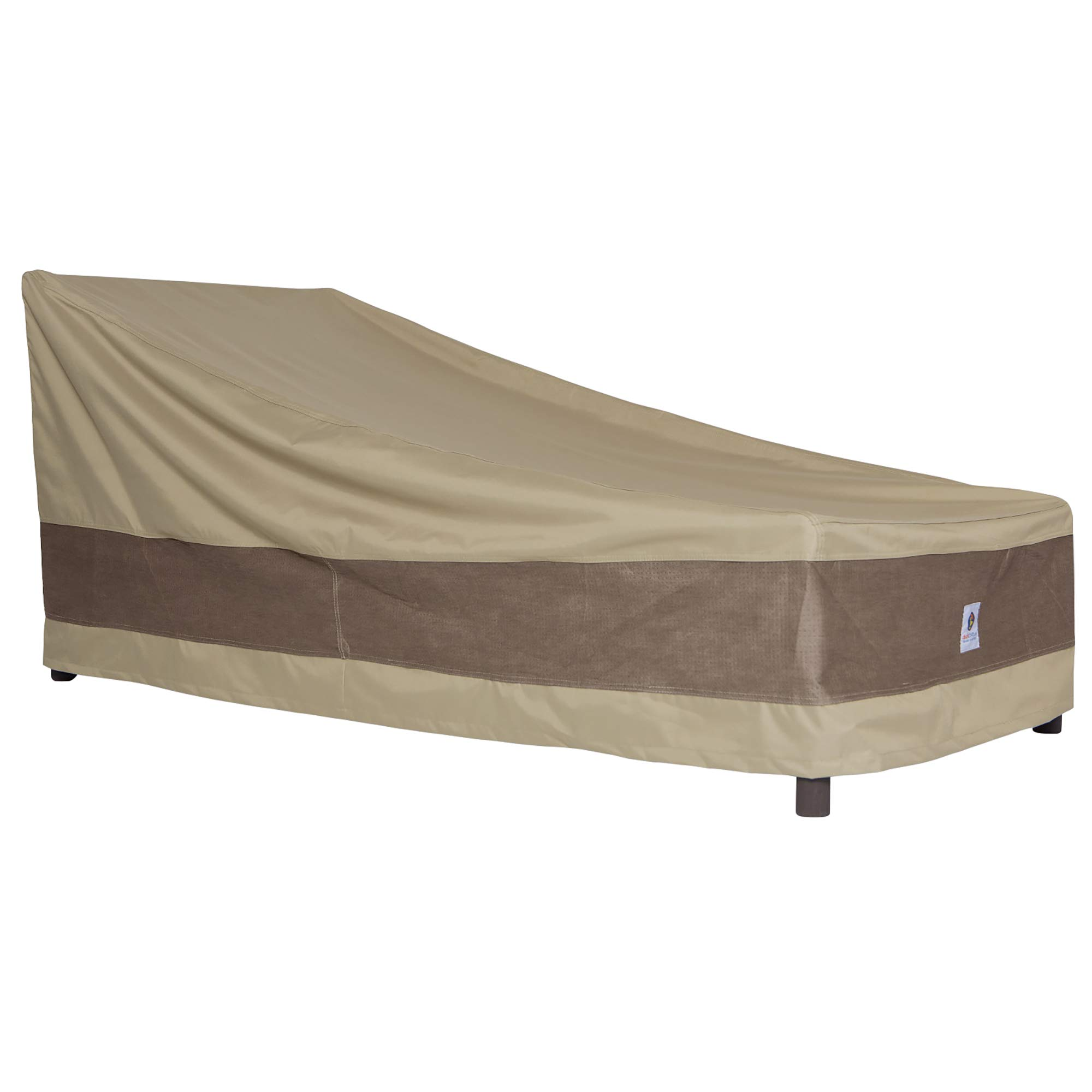 Duck Covers Elegant Patio Chaise Lounge Cover, Fits Outdoor Patio Chaise Lounge Chairs 80'' Long