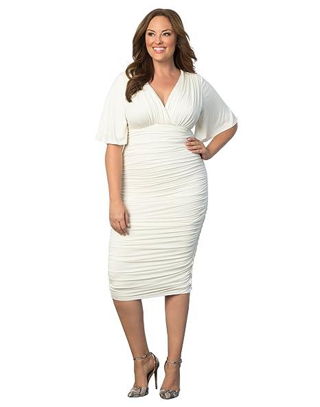 Kiyonna Women\'s Plus Size Rumor Ruched Dress