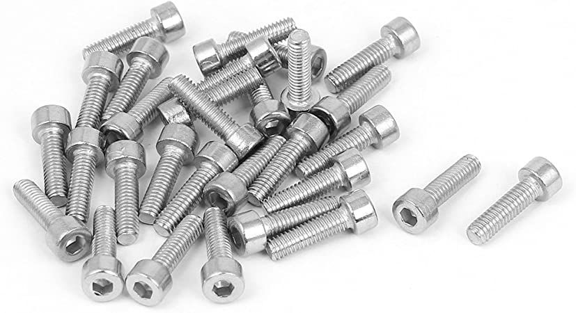 Partially Threaded Stainless Steel External Hex Drive 1//2-13 x 12 Hex Head Cap Screw Bolts Quantity 1 by Fastenere Stainless Steel 304