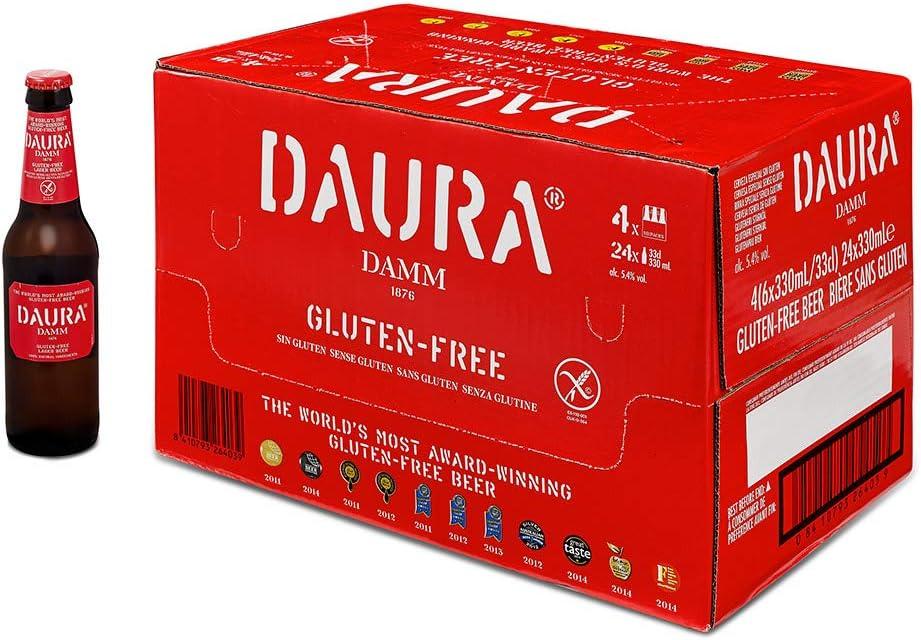 Daura Damm (24 botellas de 33 cl)