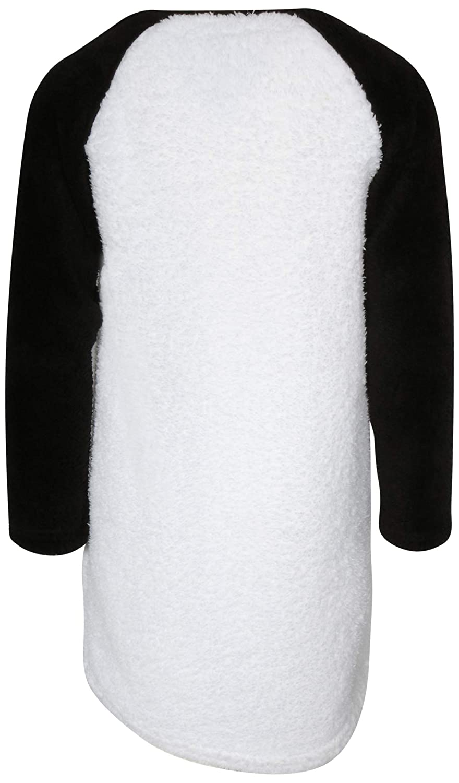 Sweet /& Sassy Girls/' Full Sherpa Animal Nightgown
