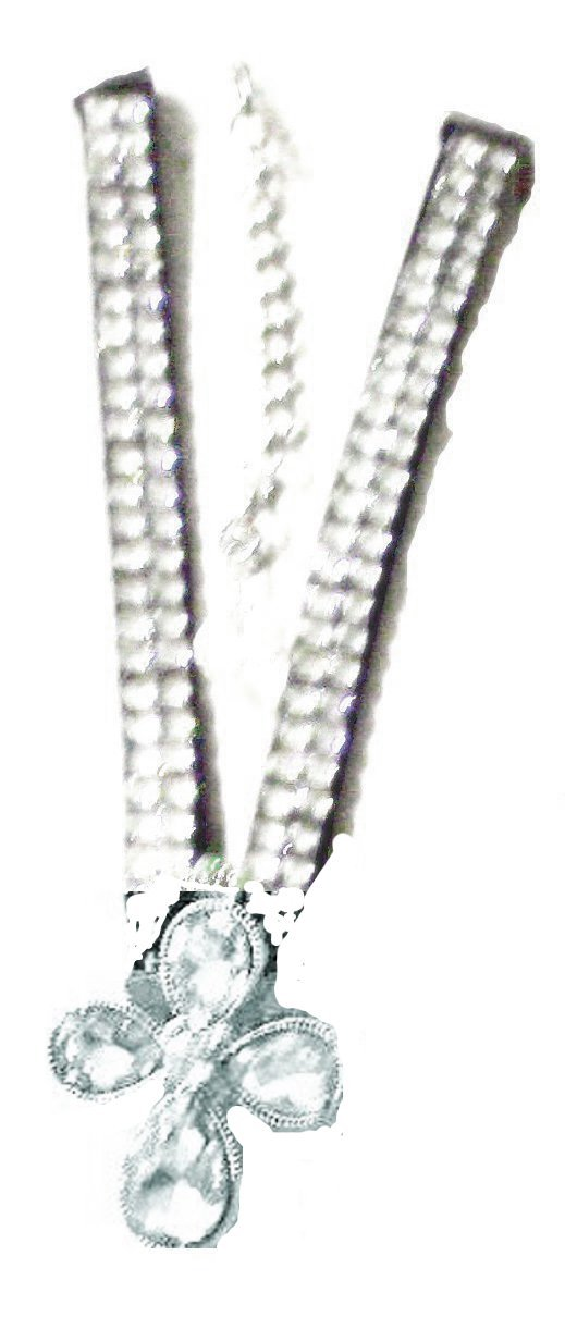 Western Rhinestone Cross Boot Anklet Cowboy Cowgirl Style